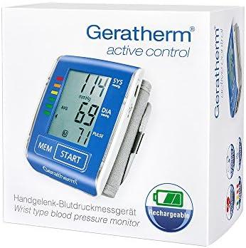 Geratherm Medical 4030000020 Active control - digitales Blutdruckmessgerät für den Handgelenk