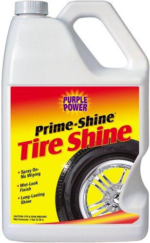 Purple Power (9620C-6PK) Prime-Shine Tire Shine - 1 Gallon , (Case of 6) by PURPLE POWER