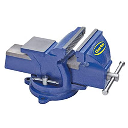 Prime Clarke Metalwork Swivel Bench Vice 6 125Mm Blue Pabps2019 Chair Design Images Pabps2019Com