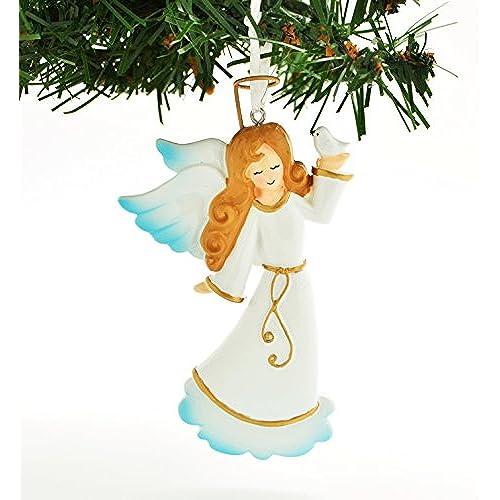 personalized angel christmas ornaments amazon com