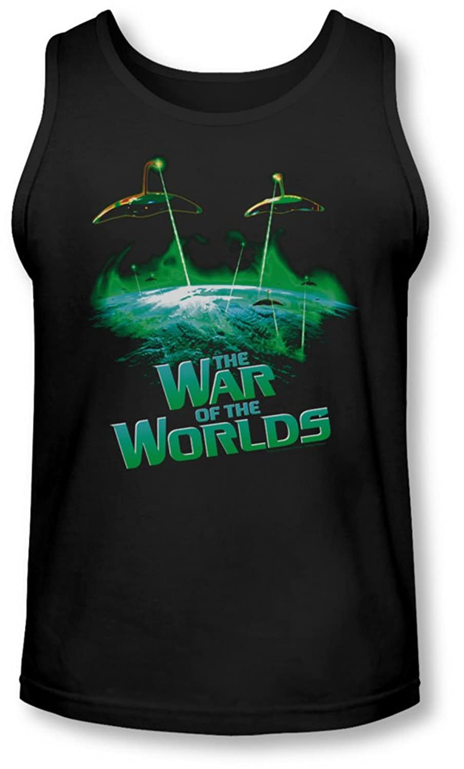War Worlds - Mens Global Attack Tank-Top