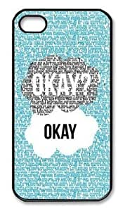 Andre-case Color.Dream Custom The Fault In Our Stars Black Side Hard Plastic Back case cover cell phone protective detjng4Hldi case cover for iPhone 4/4S