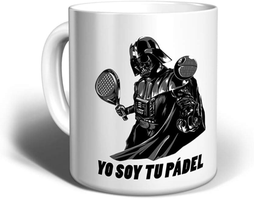 Gaamers Taza de Desayuno Divertida Yo Soy tu Padel - Taza Original ...