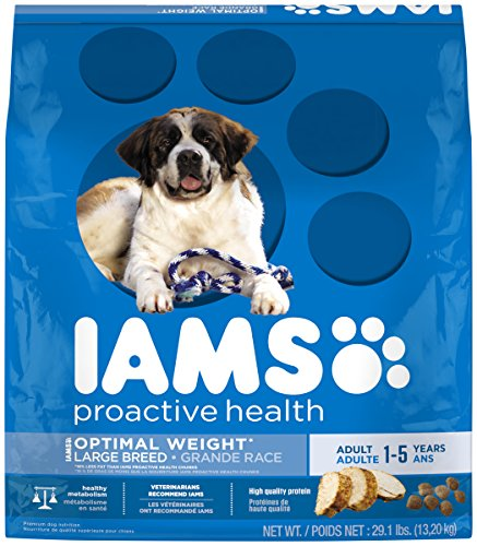 IAMS PROACTIVE HEALTH Large Breed Adult Optimal Weight Dry Dog Food 29.1 Pounds (Iams Dog Food Weight Control compare prices)