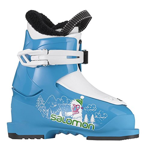 Salomon T1 Ski Boots Blue Youth 16 by Salomon
