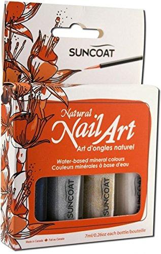 SUNCOAT PRODUCTS INC. Water-Based Natural Nailart Kit Classic
