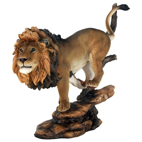 10 3 4 Pride Rock King of The Jungle Savannah Lion Wildlife Home Statue Simba