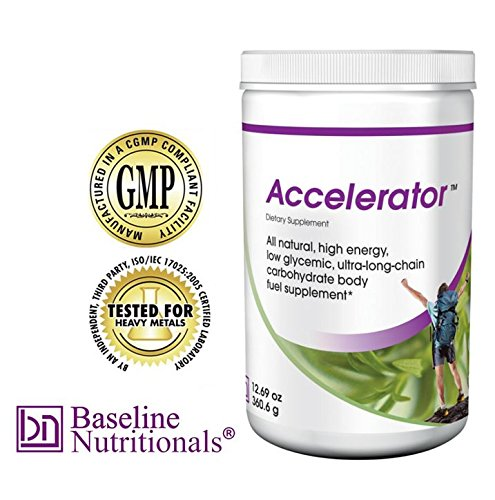 Accelerator --Natural Energy Meal Replacement Shake with Antioxidants
