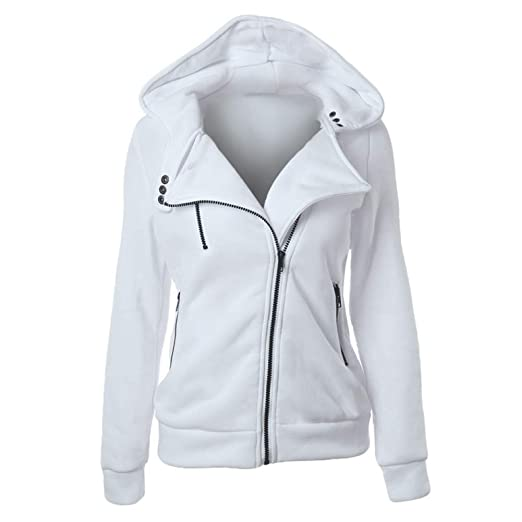 Amazon.com : WSIHBT@ Sweatshirt Female Hoodies Sweatshirt Spring Winter Long Sleeve Zip Hooded Sudaderas Mujer Warm Women Tracksuit Harajuku Streetwear ...