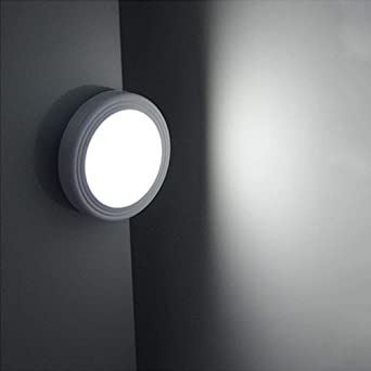 Lámpara de pared escalera interior LED luz armario armario lámpara de pared armario sensor de movimiento lámpara de pared iluminación creativa interior@Blanco(5500-6500K): Amazon.es: Iluminación