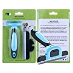 MIU COLOR Pet Deshedding Brush, Professional Grooming Tool, Effectively Reduces Shedding by Up to 95% for Short Hair and Long Hair Dogs Cats 14