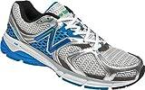 New Balance Men's M940V2 Running Shoe,White/Blue,9 2E US