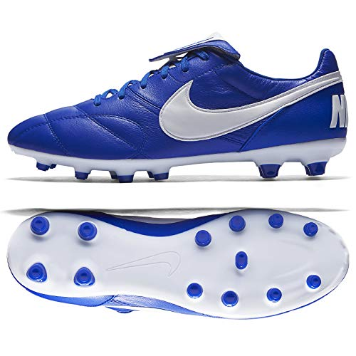 Nike The Premier II FG 917803-407 Racer Blue Kangaroo Leather Men Soccer Cleats (11.5 D US)