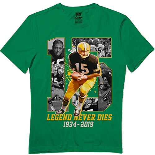 Bart-15 Legend Never Dies Thank You Starr Football Green Ba T-Shirt