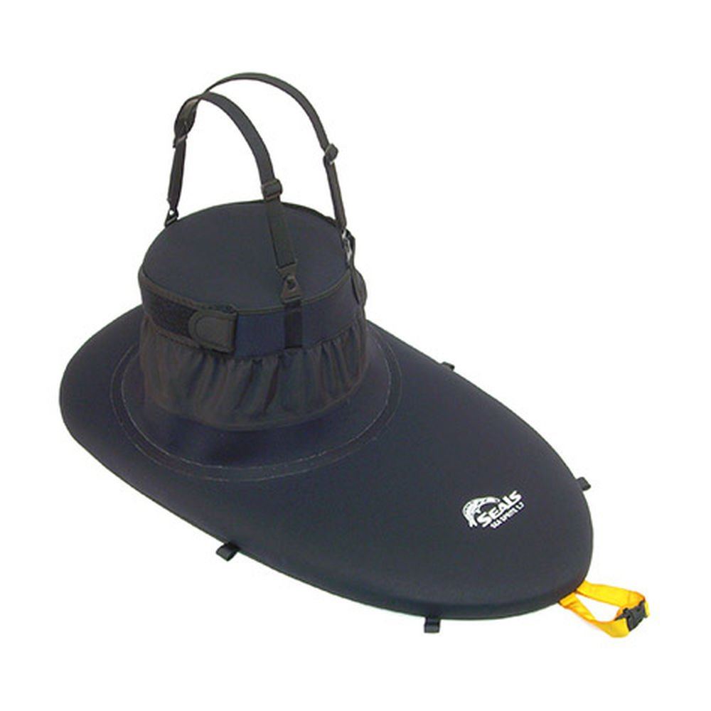 SEALS Sea Sprite Sprayskirt, 1.7 Black One Size