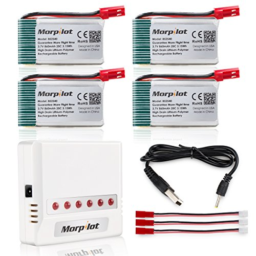 Morpilot V950hd Battery 4 Ports Charger