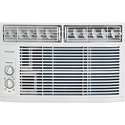 Frigidaire FFRA0811R1 8000 BTU 115V Window-Mounted Mini-Compact Air Conditioner with Mechanical Controls