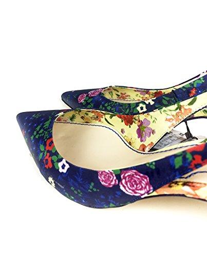 Zara Donna Tacco medio aperto sul tallone stampato 5204/201