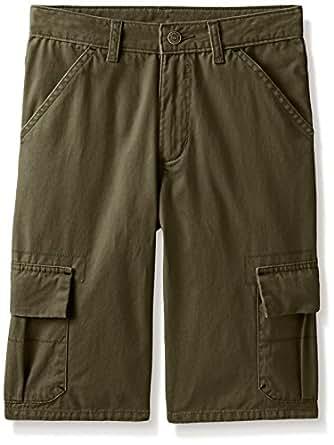 Wrangler Big Boys' Classic Cargo Shorts, Olive, 8H