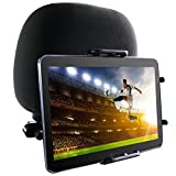 USA Gear TabGRAB Universal Tablet Car Headrest Mount with Secure Adjustable Grip , Rotating Neck & Easy Installation–Works with Multiple Tablet Sizes-Apple iPad , Samsung Galaxy , Google Nexus & More!