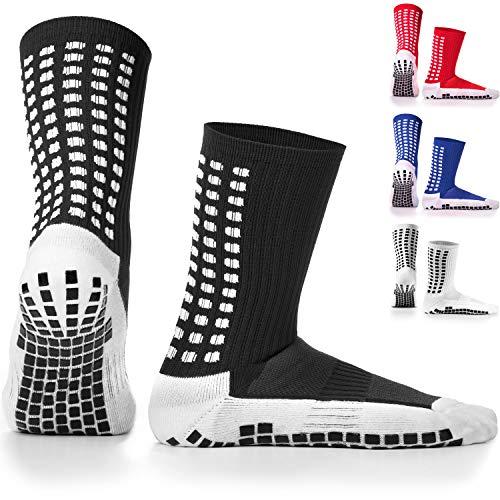 LUX Anti Slip Soccer Socks,Non Slip Football/Basketball/Hockey Sports Grip Socks