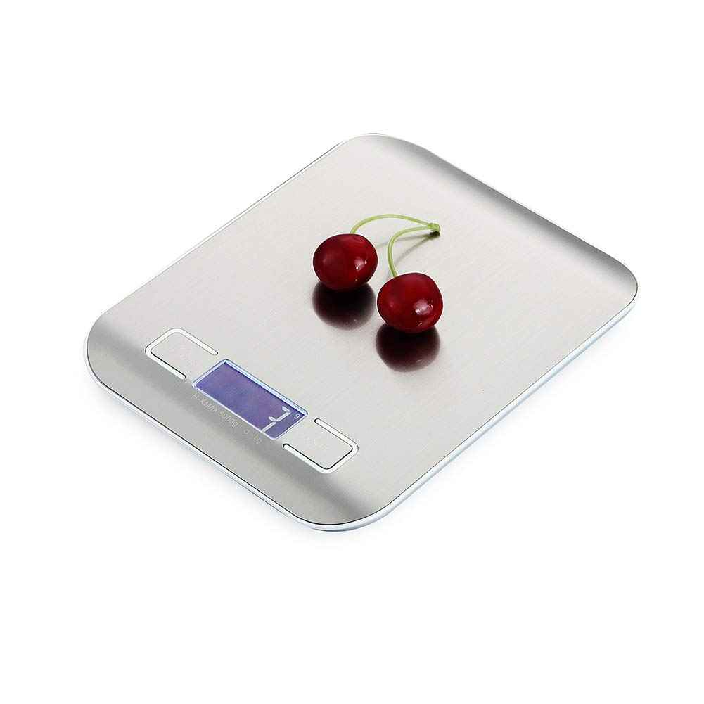 7ea3c26037d8 Amazon.com: ZEMER Digital Kitchen Weighing Scales – Stylish Slim ...