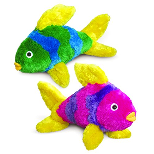 Gift Delight Fish Plush (Big & Bright) (Pack of 2)