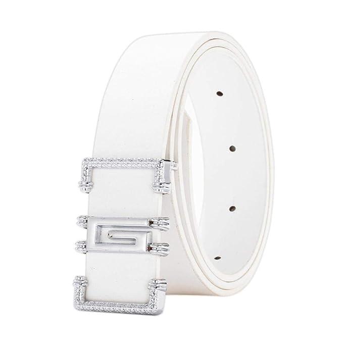 nuovi prezzi più bassi un'altra possibilità autentica di fabbrica OHQ MODA Cintura Tessuto in Nylon Cintura con Fibbia Cintura ...