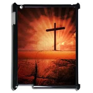 I-Cu-Le Cover Custom Case Jesus,customized Hard Plastic case For IPad 2,3,4