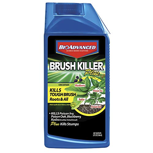 BioAdvanced 704640B 704640 Brush Killer, 32-Ounce, - Killer Brush Ortho