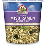 Dr. McDougall's Right Foods Vegan Miso Ramen, 1.9-Ounce Cups (Pack of 6)