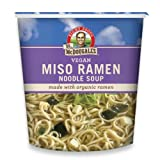 organic freeze dried garlic - Dr. McDougall's Right Foods Vegan Miso Ramen, 1.9-Ounce Cups (Pack of 6)