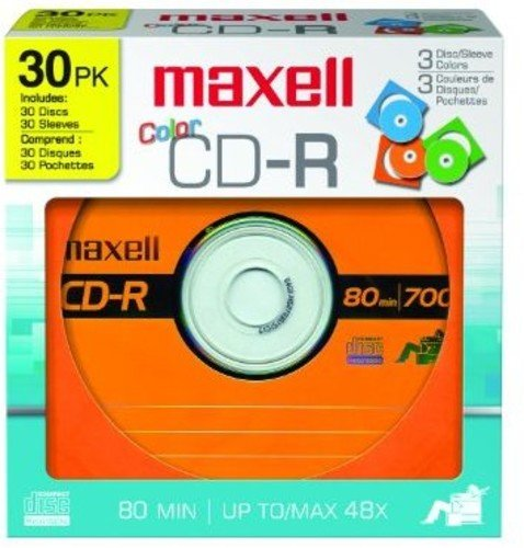 Maxell 648451 700Mb Cd-Recordable by Maxell