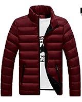 Jiushiaini Brand Winter Men Jacket New Casual Soild Color Mens Jackets and Coats Thick Parka Male