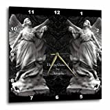 3dRose dpp_63366_3 Two Protecting Angels Standing Side by Side-Wall Clock, 15 by 15-Inch Review