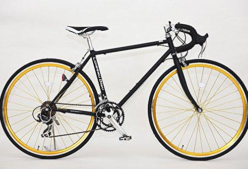 ロードバイク X-714 700C 14段変速自転車(ブラック) B071GRBVSV