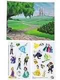 Colorforms Fun Pack Re-stickable Set - 2 Pack - Disney Princess