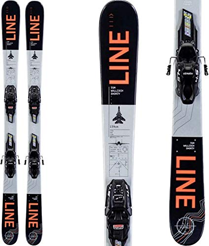 Line 2020 Tom Wallisch Shorty Skis w/ 4.5 Bindings
