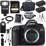 Canon EOS 5DS 5D S DSLR Camera + LPE-6 Lithium Ion Battery + Canon 100ES EOS shoulder bag Bundle 3
