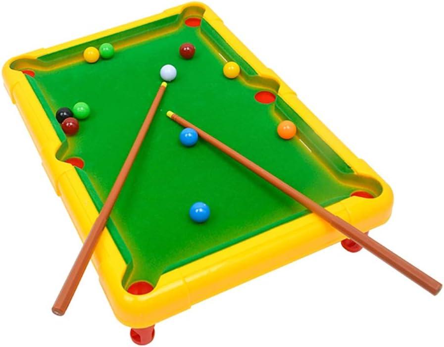 sizet Small Portable Table Billar Pool Simulation Sport Desktop Toy para niños Color Color: Amazon.es: Deportes y aire libre