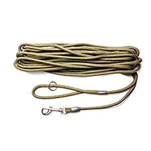 Dog & Field 2in1 10 Meter Training/Exercise Dog Lead - Super Soft Braided Nylon 11