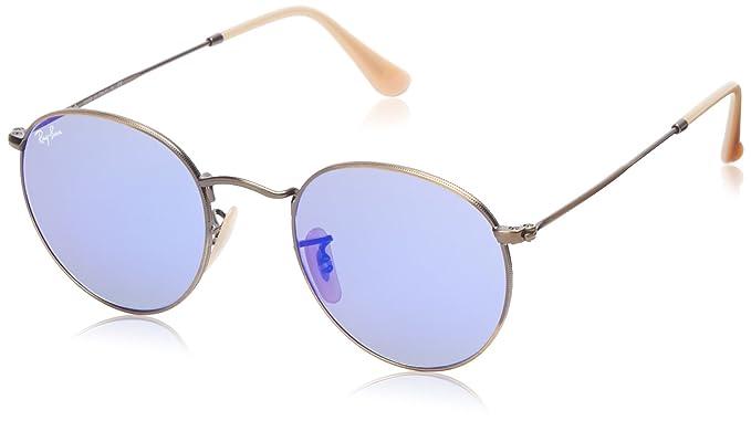 Ray-Ban RB3447 Gafas de Sol, Negro, 50 Unisex-Adulto