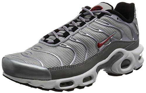 QS Nike 37 Running Rojo Plata Mujer Plus 5 Zapatillas Zapatillas 887092 Air MAX Metálica xIq6FwrIS