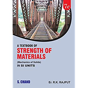 A Textbook of Strength of Materials (Mechanics of Solids) in SI Units