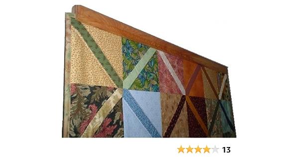 12 x 38 Long Walnut Wood Wall Hanging Tapestry Rod