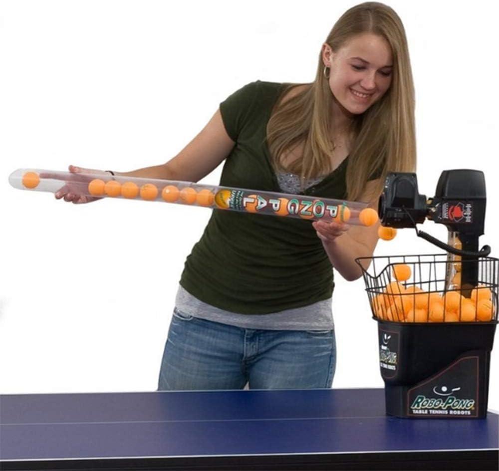 LYN&xxx Mesa de Ping Pong Bola colector Selector de Ping-Pong Bola Recogiendo Mesa de Ping Pong Accesorios para el Tenis, Pickleball, Padel y más hasta 85 cm del Tubo Largo
