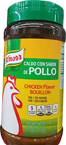 Knorr Bouillon, Granulated, Chicken Flavored, 35.3-Ounce Jar (Chicken Granulated)