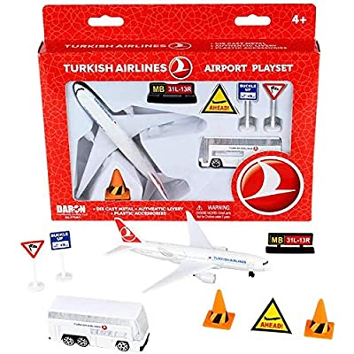 Daron Turkish Airlines Airport Playset RT5401: Toys & Games