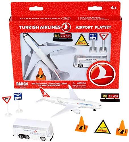 Daron Turkish Airlines Airport Playset RT5401 ()