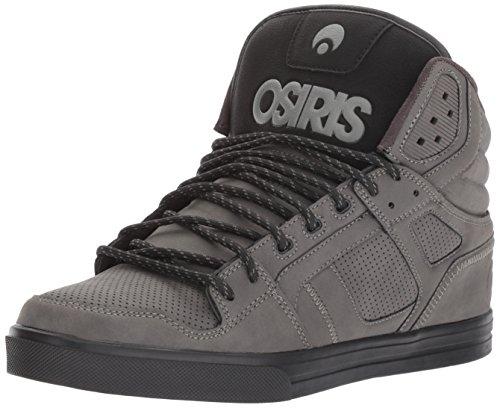 Osiris Skateboard Shoe (Osiris Men's Clone Skate Shoe, Charcoal/Work, 8 M US)